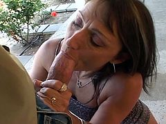Granny Jillian Foxxx gets perverted for young cock. She opens her old pussy for that hard dick and she shows him how starving she is for his cum. He attacks her non-stop and she loves it.
