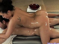 Exotic is ready to spend hours jerking dudes meat stick with her hands