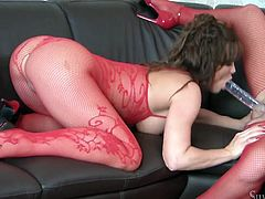 Be pleased with two voluptuous babes who fuck double side dildo. They are so lubricious and playful. Just click here and enjoy lesbians for free.
