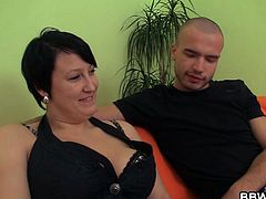 Here's a heavy category broad than is about to get dirty with this dude. He picks her up from the streets and they go inside to have a little fun. The guy wants to enjoy all 105 kilos of her so he unbuttons her begins to suck her nipples. Why not hang around and see some more heavy action!
