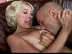 Sila older blonde granny fucking some more