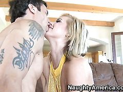Tara Lynn Foxx with phat butt and hard dicked guy Alan Stafford are horny for each other