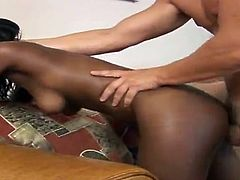 What can be better than jerking off on an interracial porn video? Well, our free porn tube provides our dear viewers with such sexy ebony babes like Melea!