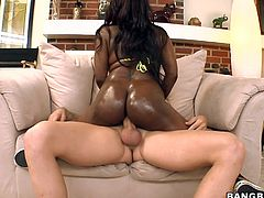 Take the time to have a look at this hardcore video where the smoking hot Jada Fire is fucked silly. Get a load of this ebony babe's amazing body as she's nailed by this guy.