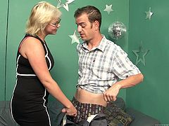 Sex hungry pony looking dude welcomes blowjob from his college professor before he starts licking her armpits. Later she gives him a head and rub his erected penis with her feet in perverse sex video by Fame Digital.