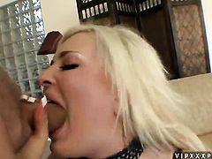 Blonde with big jugs cant stop toying her slit