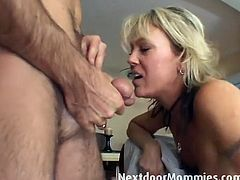 Courtesy of Next Door Mommies you cans see this kinky blonde milf getting her sweet tight booty getting drilled deep and hard into heaven. She loves wild anal sex!