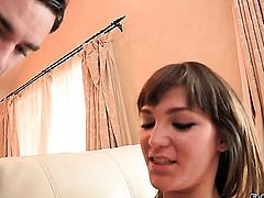 Holly Michaels loves getting her throat fucked by hot bang buddy