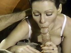 Needy babes are sucking hard cocks in superb vintage oral porn sessions