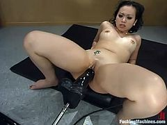 This petite and smoking hot siren Chyna White got a very lusty and itchy Asian pussy. Well, that device is going to suppress her sexual hunger!
