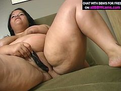 Fat ugly black pussy