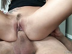 Bill Bailey gets his always hard dick eaten by April Oneil