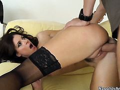 India Summer is a sex pro who is ready to enjoy Dane Crosss man meat in her fuck box all day long