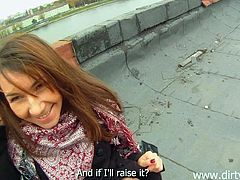 rooftop fuck with a naughty redhead