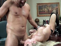 Dirty babe bends over and begs her guy to smash that ass in half