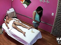 Logan Pierce cant wait any more to shove his schlong in perfect bodied Lily Lusts mouth
