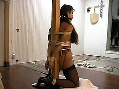What a sizzling and passionate chick Alexis Taylor is! Honey gets naked and makes her man feel so tough on her! Honey wants to fuck or get pain?