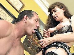 Alexandra Silk gets am anal fuck with hard cocked dude Paul Carrigan