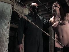 She has always been perverted and the only thing she loves is a severe BDSM. Today she is the object of perversions and that is so fucking terrifying!