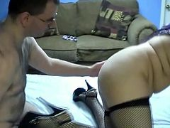 In her tights she looked so sexy and horny that her friend decided to let hertaste his cock for the first time.Watch her swallow that cock deepthroat in Chick Pass Network sex clips.