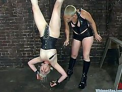 Lorelei Lee gets whipped and toyed by short-haired Trixie