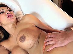 Ava Devine assfucked and touches private part