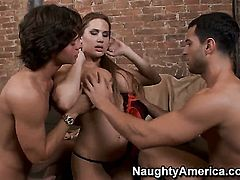 Alanah Rae and hot guy Seth Gamble have a lot of sexual energy to spend