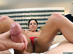 Eva Ellington is good at tool sucking and loves it