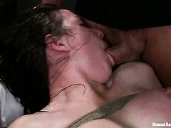 Please welcome Nicole Ryder, a brand new face at kink.com and a relatively new girl to the industry in general! Today you get the special treat of seeing her FIRST experience being BOUND for sex, her FIRST GANGBANG, and her FIRST DP, ever!!!!!! Total amateur hottness!!!