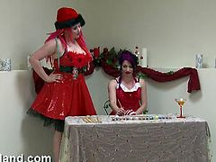 Check out these kinky Christmas sluts showing off their tight pussies and using their favorite toys to toy them. They want nothing, but to open legs wide and cum for you.