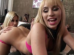 Angel faced whore Aleska Diamond shows lesbian sex tricks Abbie Cat with desire