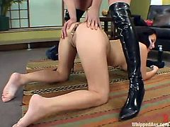 Two desirable and gorgeous chicks Anna Mills and Valerie Herrera are going to have some hardcore lesbian minutes together! Amazing!