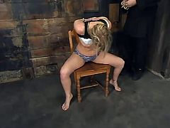 And seems like even a hardcore BDSM will not clean her off the dirt she has in her mind! Crystal Frost is a super naughty one and she loves pain as well as orgasm!