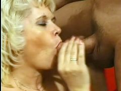 He adores when some granny screams and moans like it' her first time fucking, so he pound her in hardcore style in order to make her go crazy