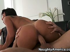 Lezley Zen with massive jugs and James Deen bang for cam for you to watch and enjoy
