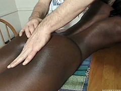 She licked it suckd and swallowed his semen when he was done.Watch this slutty black babe suck that large cock of his in Fame Digital sex clips.