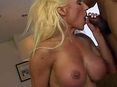 See the vicious blonde milf Ashley Starr getting her mouth and pussy banged balls deep into kingdom come while assuming very hot poses. Then things get much more interesting as she gets her face creamed.