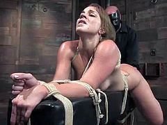 Amber Rayne and Kirra Lynne love being tortured in a basement