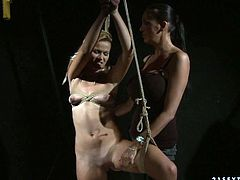 Watch these crazy lesbian chicks having fun on their own,with their plastic sex toys being sticked in their wet pussy and butthole in 21 Sextury sex clips.