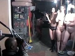 Three seductive topless chicks are smocking and posing in front of a cam. Their juicy tits are everything your cock desires. Just click here and enjoy watching hot Chick Pass sex movie.