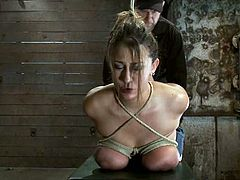 Beautiful Trina Michaels Gets Her Big Boobs Tied Up Extremely in BDSM Vid