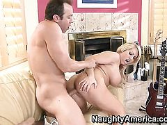 Heather Summers with phat butt and bald twat lets Will Powers shove his cock in her pussy