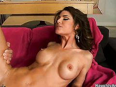 Christian buries his rock hard rod in unbelievably sexy Jenni Lees love box