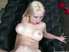 Watch this horny Sarah Vadella getting fucked in her tight pussy by her new friend who has a large cock in Naughty America sex clips.