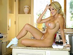 After practicing some yoga outdoors in a beautiful place, Khloe Terae goes inside to cook and to show you her amazing hot body and big tits.