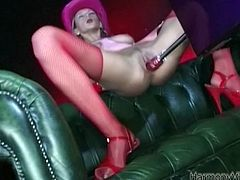 Harmony Vision provides you with a big number of extremely hot sex movies and clips. Enjoy watching one another hoochie who moans under the waves of pleasure while sex machine penetrates her snatch intensively.