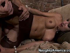 Senorita Ann Marie Rios and hard dicked dude Mikey Butders are in the mood for fucking
