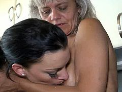Just because there's no man around doesn't mean these two inredibly perverted lesbians can't dominate each others holes like any man would love to do! Check out this mind-blowing sex video because there's plenty of strapon going on.