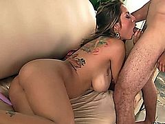 Awesome hot porn star babe fucked really bad