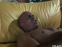 Daisy Marie and Jenaveve Jolie sharing daddy's hard cock on the couch. They enjoy taking turns on rding that dick with gusto. This is how they address their cum cravings to the maximum.